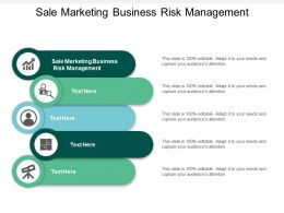 Sale Marketing Business Risk Management Ppt Powerpoint Presentation Professional Graphics Example Cpb