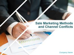 Sale Marketing Methods And Channel Conflicts Powerpoint Presentation Slides