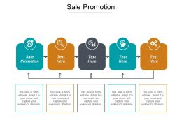 Sale Promotion Ppt Powerpoint Presentation Model Guide Cpb
