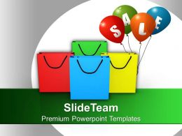 Sale Shopping Bags Festival PowerPoint Templates PPT Themes And Graphics