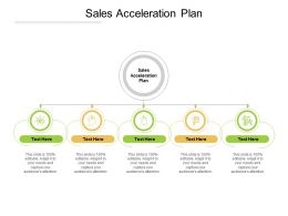 Sales Acceleration Plan Ppt Powerpoint Presentation Portfolio Pictures Cpb