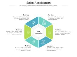 Sales Acceleration Ppt Powerpoint Presentation Summary Visual Aids Cpb