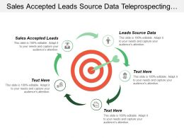 Sales Accepted Leads Source Data Tele Prospecting Accepted Leads