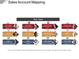 Sales Account Mapping Powerpoint Guide