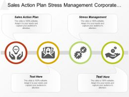 Sales Action Plan Stress Management Corporate Financial Restructuring