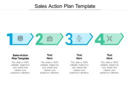 Sales Action Plan Template Ppt Powerpoint Presentation Slides File Formats Cpb