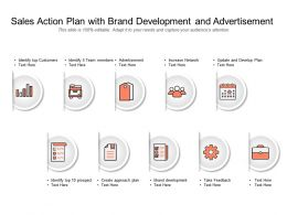 Sales Action Plan With Brand Development And Advertisement