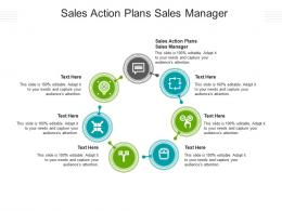 Sales Action Plans Sales Manager Ppt Powerpoint Presentation Model Diagrams Cpb