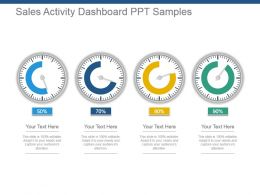 Sales Activity Dashboard Ppt Samples