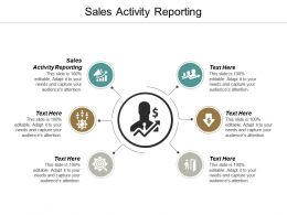 Sales Activity Reporting Ppt Powerpoint Presentation Summary Professional Cpb