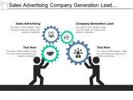 Sales Advertising Company Generation Lead Project Management Support Cpb
