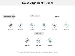 Sales Alignment Funnel Ppt Powerpoint Presentation Gallery Graphic Images Cpb