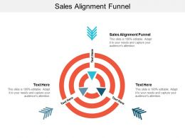 Sales Alignment Funnel Ppt Powerpoint Presentation Infographic Template Gallery Cpb