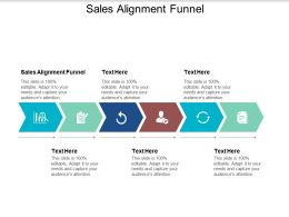 Sales Alignment Funnel Ppt Powerpoint Presentation Pictures Examples Cpb