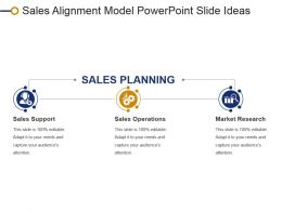 Sales Alignment Model Powerpoint Slide Ideas