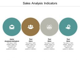 Sales Analysis Indicators Ppt Powerpoint Presentation Icon Deck Cpb