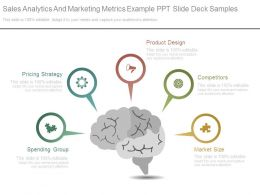 Sales Analytics And Marketing Metrics Example Ppt Slide Deck Samples