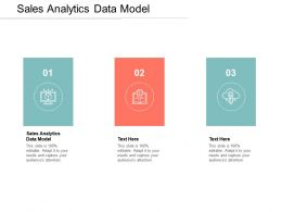 Sales Analytics Data Model Ppt Powerpoint Presentation Introduction Cpb