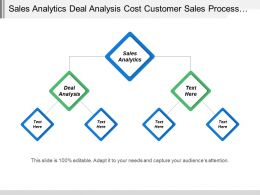 Sales Analytics Deal Analysis Cost Customer Sales Process