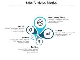 Sales Analytics Metrics Ppt Powerpoint Presentation Model Graphics Cpb