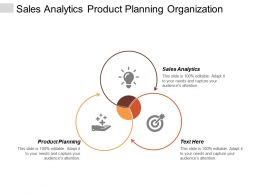 Sales Analytics Product Planning Organization Vision Statement Hr Models Cpb