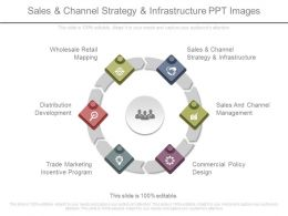 Sales And Channel Strategy And Infrastructure Ppt Images