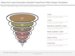 Sales And Lead Generation Sample Powerpoint Slide Design Templates