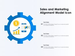 Sales And Marketing Alignment Model Icon
