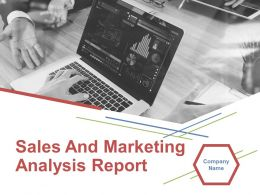 Sales And Marketing Analysis Report Powerpoint Presentation Slide