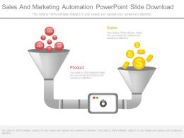 Sales And Marketing Automation Powerpoint Slide Download