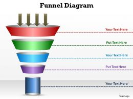 sales and marketing circular funnel diagram style 3 slides diagrams templates powerpoint info graphics