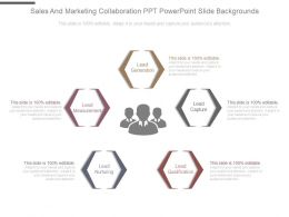 Sales And Marketing Collaboration Ppt Powerpoint Slide Backgrounds