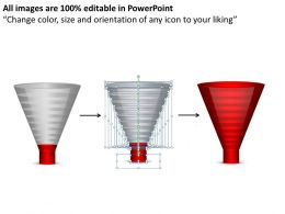 14704235 Style Layered Funnel 10 Piece Powerpoint Presentation Diagram Infographic Slide