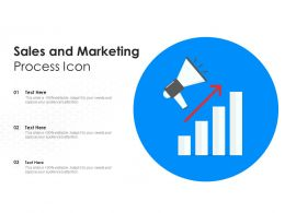 Sales And Marketing Process Icon