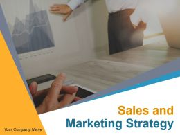 Sales And Marketing Strategy Powerpoint Presentation Slides