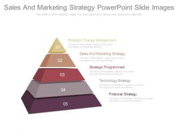Sales And Marketing Strategy Powerpoint Slide Images