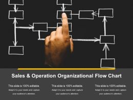 Sales And Operation Organizational Flow Chart