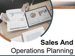Sales And Operations Planning Financial Process Management Business Elements Service