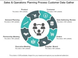 Sales And Operations Planning Process Customer Data Gather