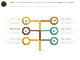 Sales And Operations Planning Process Guide Powerpoint Presentation Examples