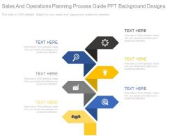 Sales And Operations Planning Process Guide Ppt Background Designs
