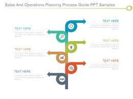 Sales And Operations Planning Process Guide Ppt Samples