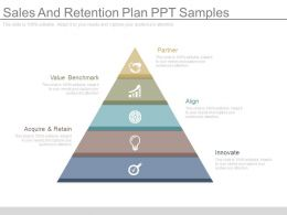 Sales And Retention Plan Ppt Samples