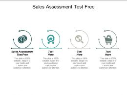 Sales Assessment Test Free Ppt Powerpoint Presentation Outline Graphics Example Cpb