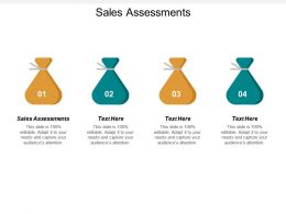 Sales Assessments Ppt Powerpoint Presentation Styles Slides Cpb