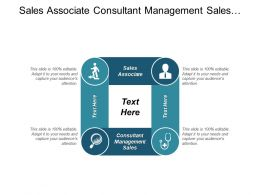 Sales Associate Consultant Management Sales Customer Management Marketing Cpb