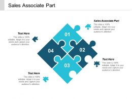 Sales Associate Part Ppt Powerpoint Presentation Styles Shapes Cpb