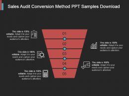 Sales Audit Conversion Method Ppt Samples Download