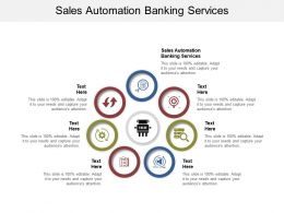 Sales Automation Banking Services Ppt Powerpoint Presentation Slides Graphics Design Cpb