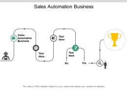 Sales Automation Business Ppt Powerpoint Presentation Inspiration Cpb